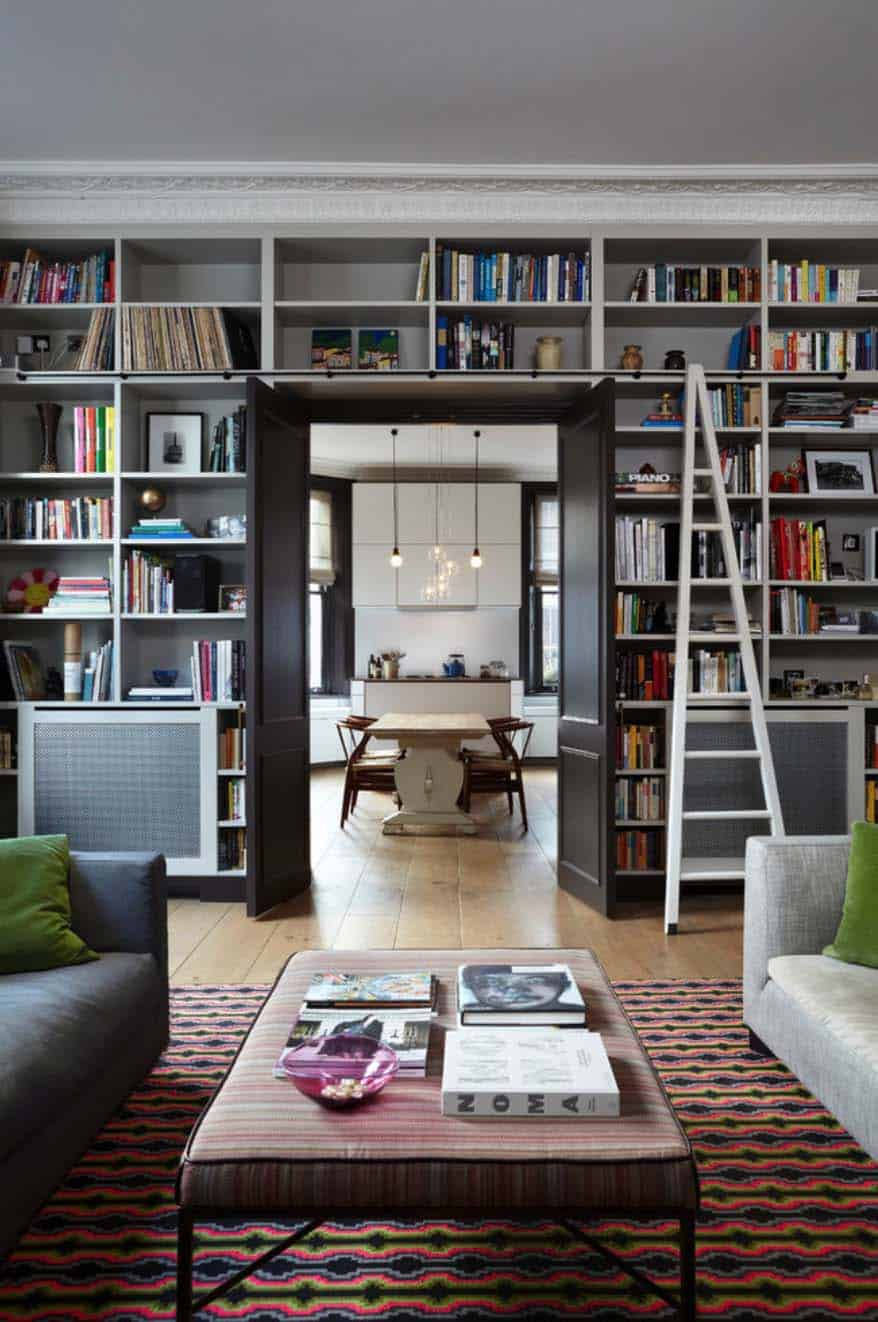 Delightful Bookshelf Ideas Part - 10: Fascinating Bookshelf Ideas-27-1 Kindesign