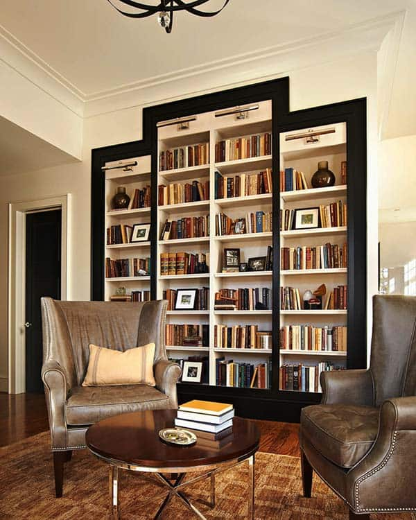 Fascinating Bookshelf Ideas-28-1 Kindesign