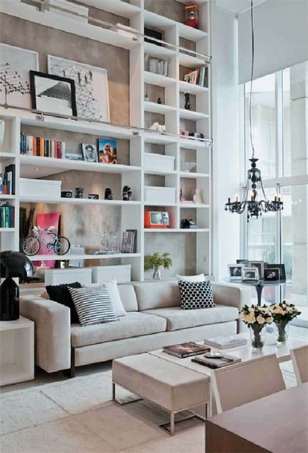 Fascinating Bookshelf Ideas-29-1 Kindesign