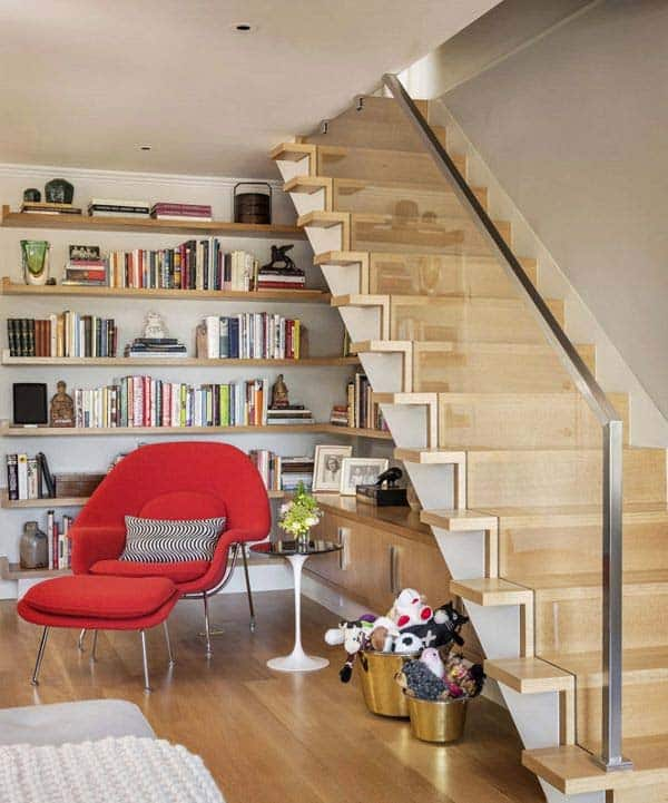 Fascinating Bookshelf Ideas-31-1 Kindesign