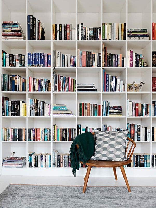 Fascinating Bookshelf Ideas-32-1 Kindesign