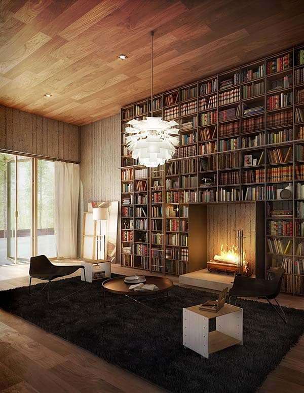 Fascinating Bookshelf Ideas-39-1 Kindesign