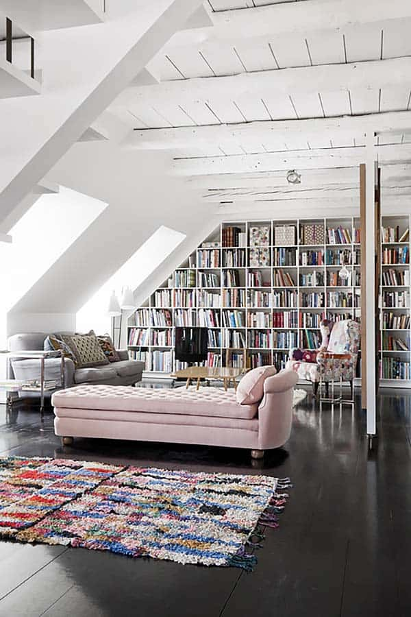 Fascinating Bookshelf Ideas-40-1 Kindesign