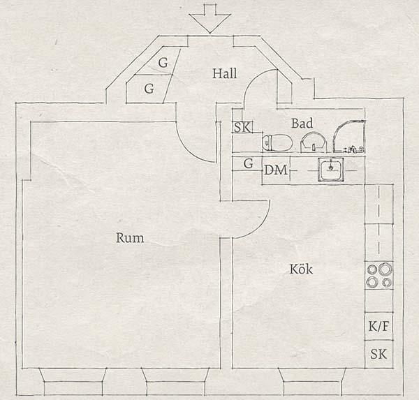 Linnestaden Flat-26-1 Kindesign