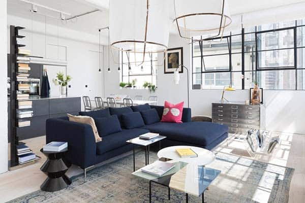 featured posts image for Spectacular loft in London with industrial style interiors