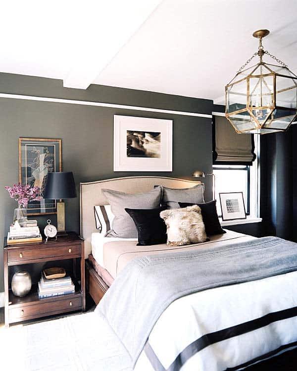 Masculine Bedroom Design Ideas-08-1 Kindesign