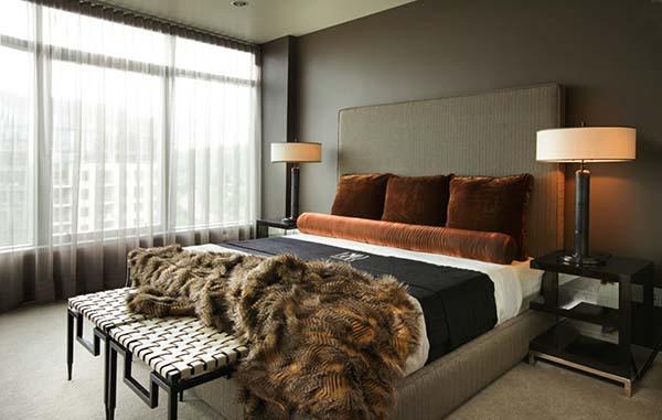Masculine Bedroom Design Ideas-09-1 Kindesign