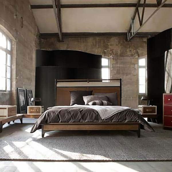 Masculine Bedroom Design Ideas-13-1 Kindesign