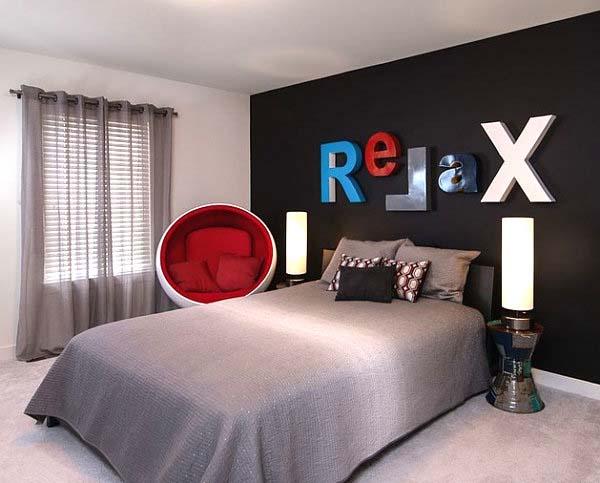 Masculine Bedroom Design Ideas-35-1 Kindesign