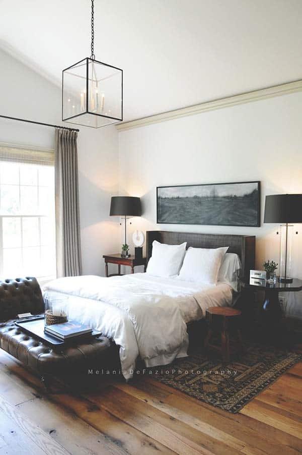 Masculine Bedroom Design Ideas-46-1 Kindesign