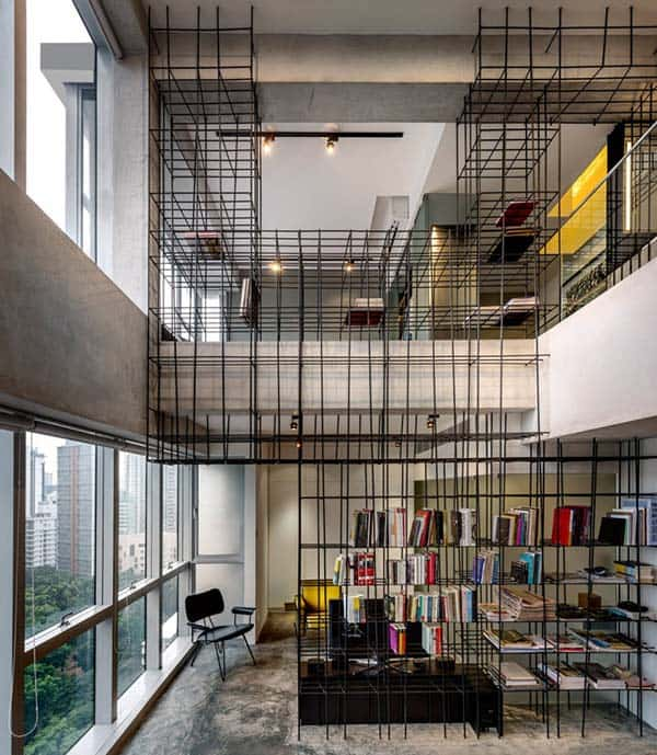 featured posts image for Loft apartment in Singapore displays as living art by PRODUCE