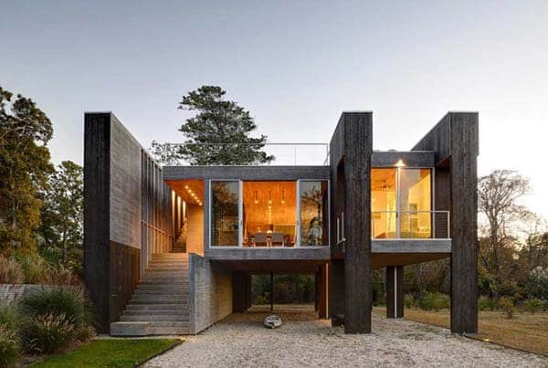 featured posts image for Distinctive Northwest Harbor House with sustainable elements