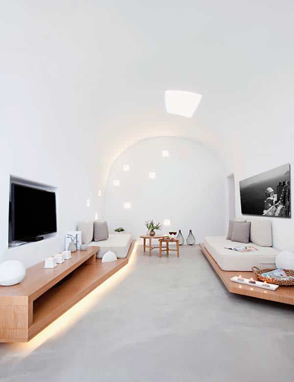 featured posts image for Villa Anemolia displays simplicity of design in Santorini