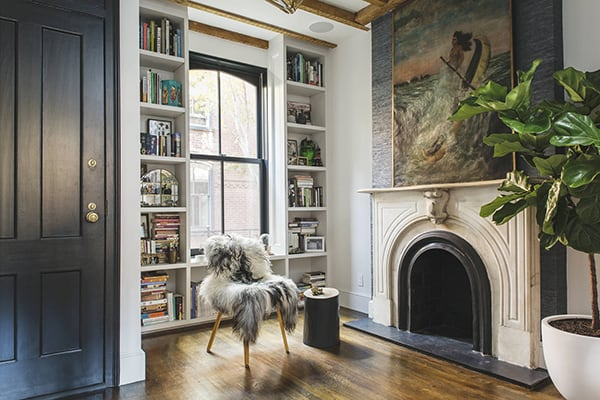 featured posts image for Charming oasis in New York City: Warren Mews Townhouse