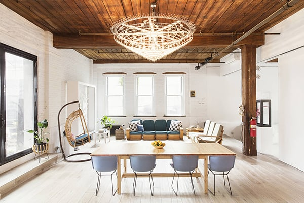 featured posts image for Industrial style live / work space in New York: Williamsburg Loft