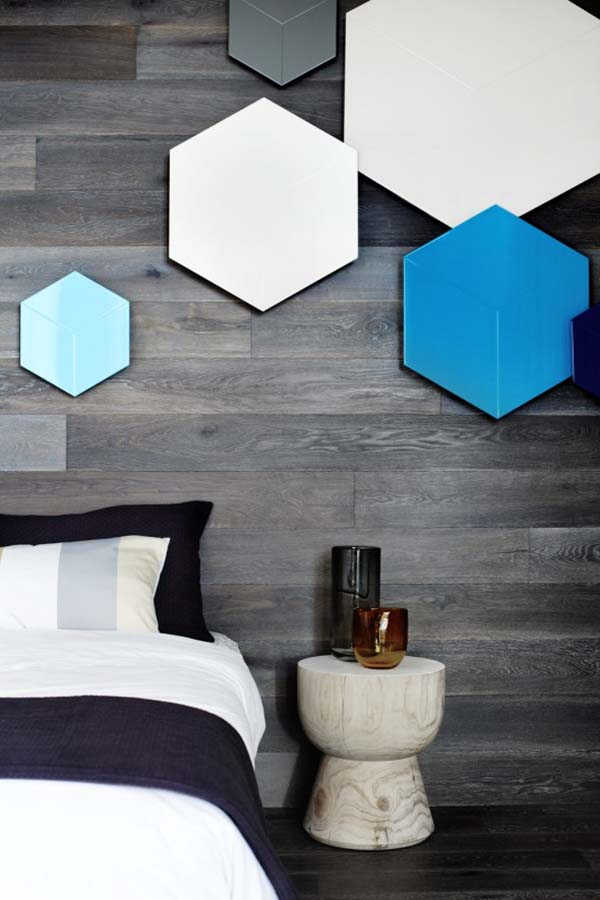 Wood Clad Bedroom Walls-17-1 Kindesign