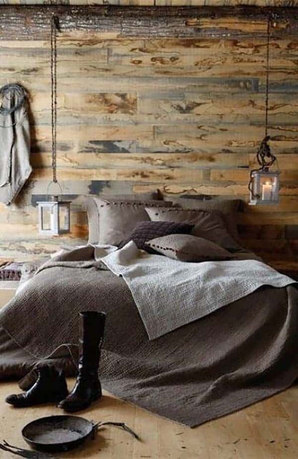 Wood Clad Bedroom Walls-39-1 Kindesign