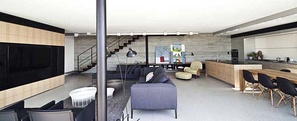 Y Duplex Penthouse-Pitsou Kedem Architects-02-1 Kindesign
