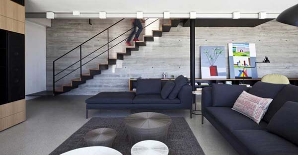 Y Duplex Penthouse-Pitsou Kedem Architects-03-1 Kindesign