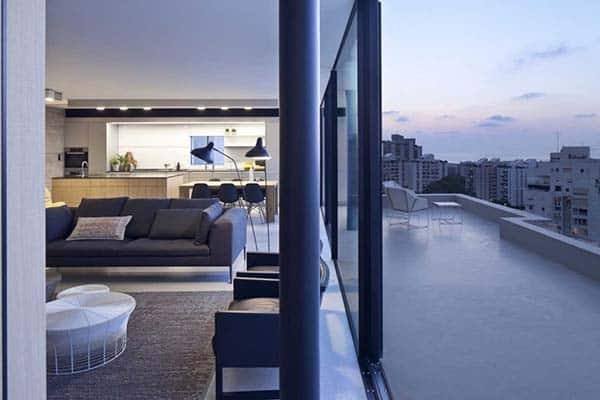 Y Duplex Penthouse-Pitsou Kedem Architects-07-1 Kindesign