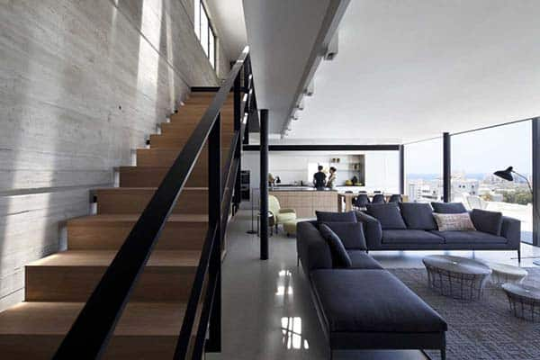 Y Duplex Penthouse-Pitsou Kedem Architects-08-1 Kindesign