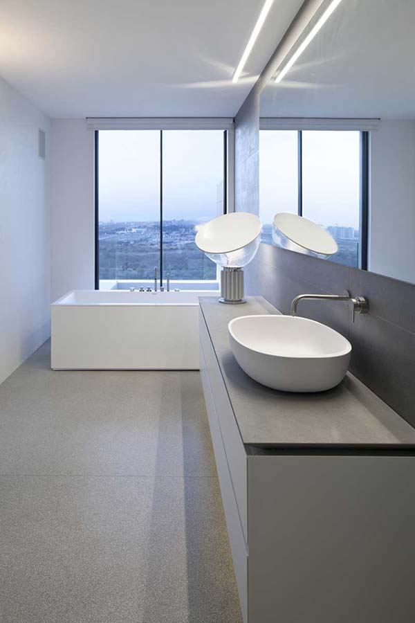 Y Duplex Penthouse-Pitsou Kedem Architects-16-1 Kindesign