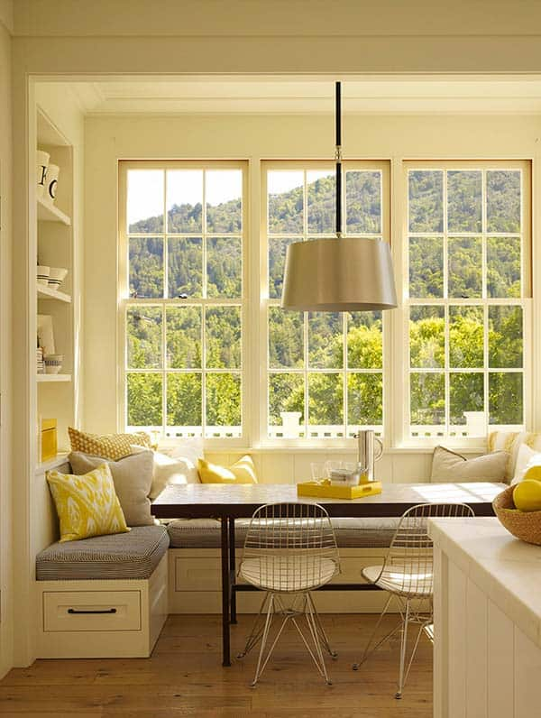 Breakfast Nook Design Ideas-01-1 Kindesign
