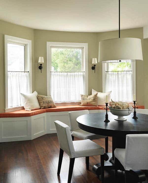Breakfast Nook Design Ideas-02-1 Kindesign