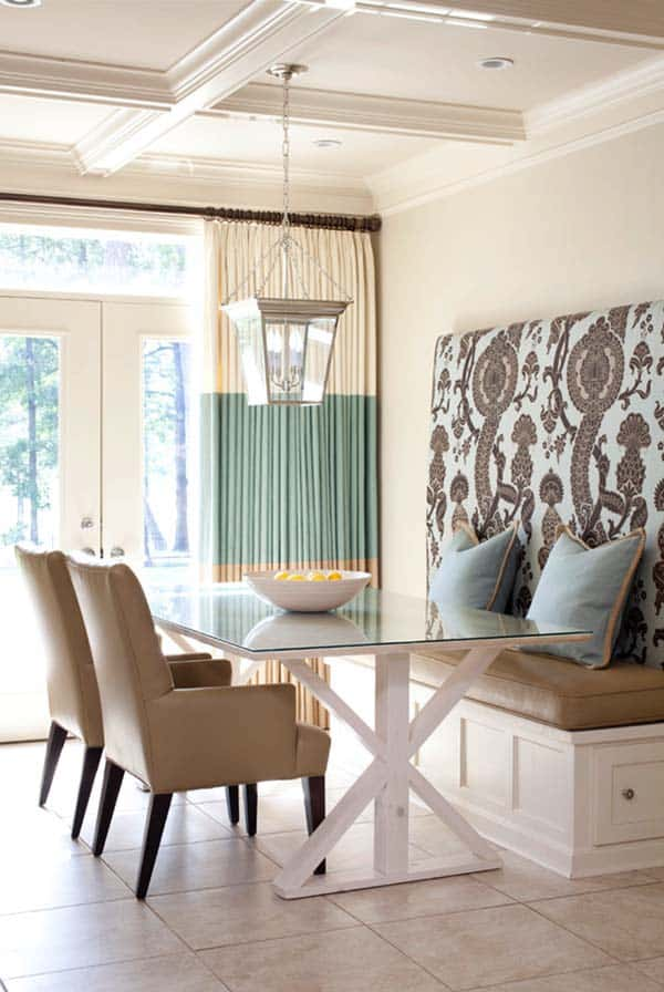Breakfast Nook Design Ideas-025-1 Kindesign
