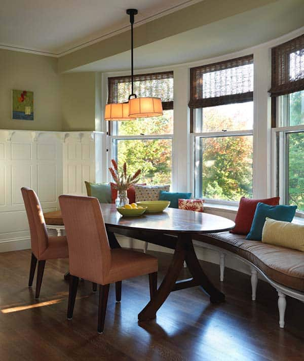 Breakfast Nook Design Ideas-03-1 Kindesign