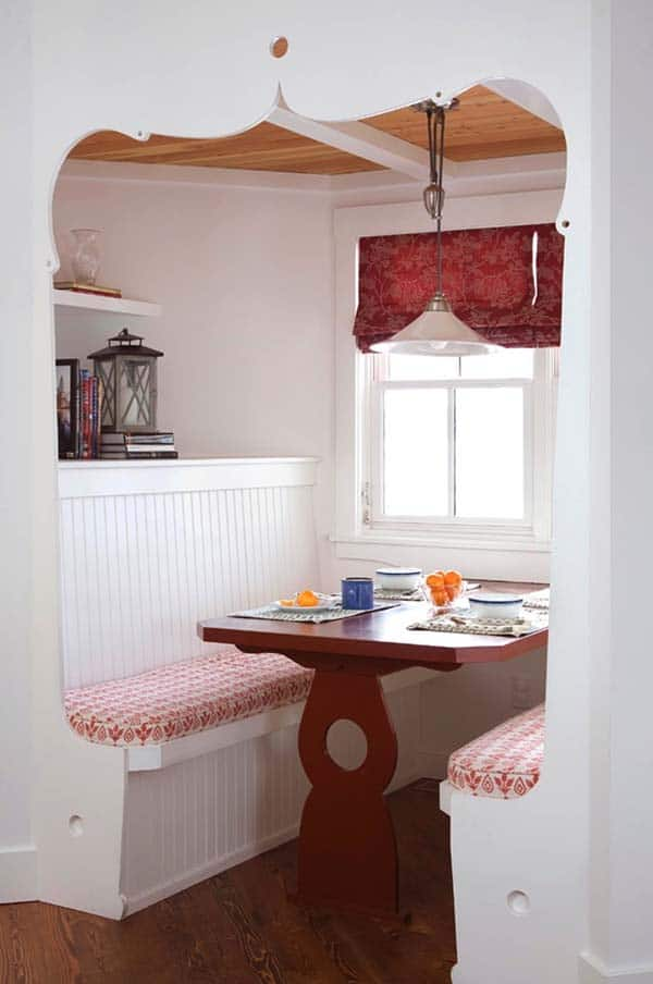 Breakfast Nook Design Ideas-05-1 Kindesign