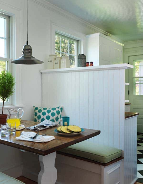 Breakfast Nook Design Ideas-07-1 Kindesign