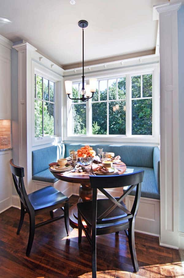 Breakfast Nook Design Ideas-08-1 Kindesign