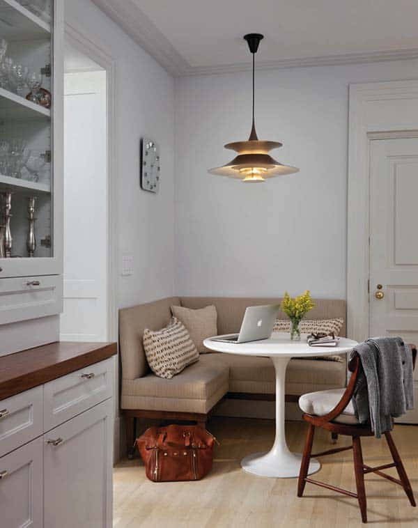 Breakfast Nook Design Ideas-09-1 Kindesign