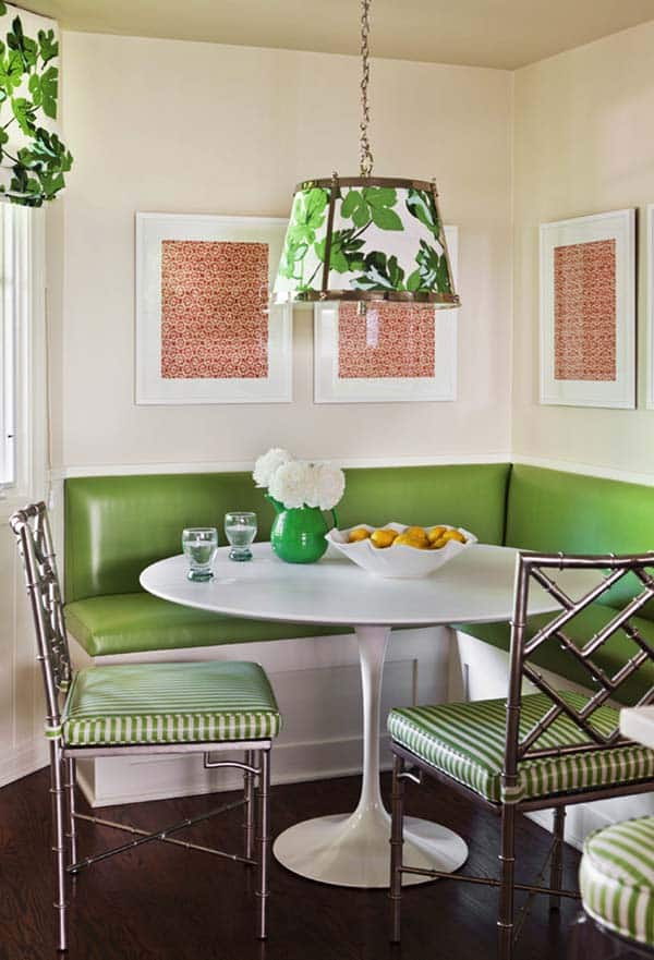 Breakfast Nook Design Ideas-11-1 Kindesign