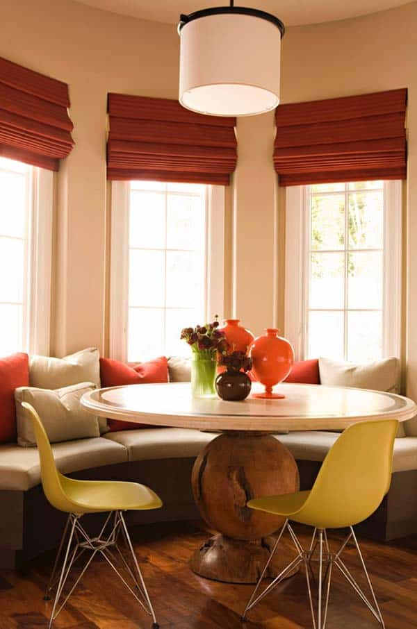 Breakfast Nook Design Ideas-14-1 Kindesign