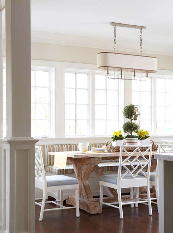 Breakfast Nook Design Ideas-15-1 Kindesign