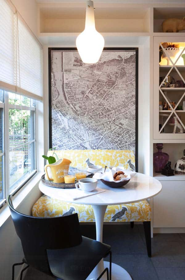 Breakfast Nook Design Ideas-16-1 Kindesign