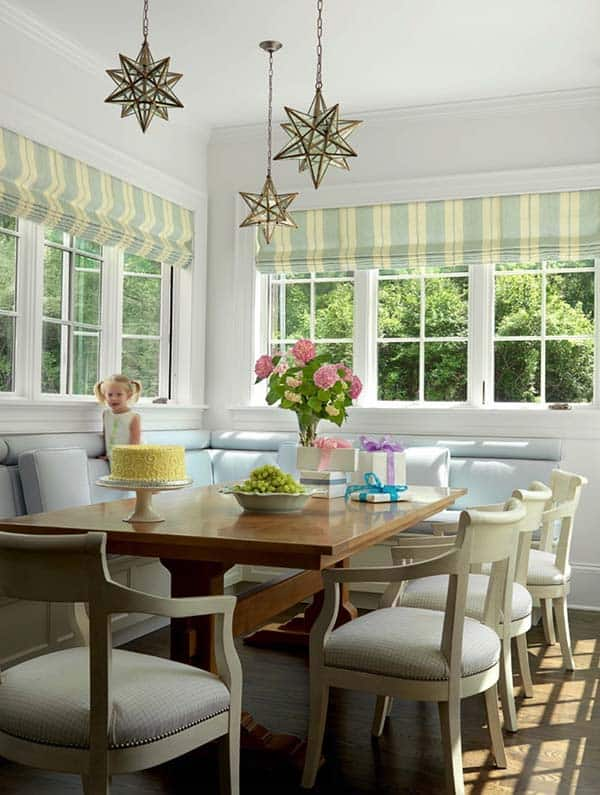 Breakfast Nook Design Ideas-17-1 Kindesign