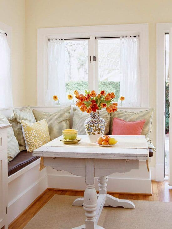 Breakfast Nook Design Ideas-18-1 Kindesign