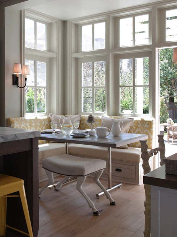 Breakfast Nook Design Ideas-19-1 Kindesign