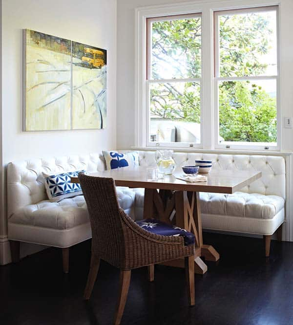 Breakfast Nook Design Ideas-20-1 Kindesign
