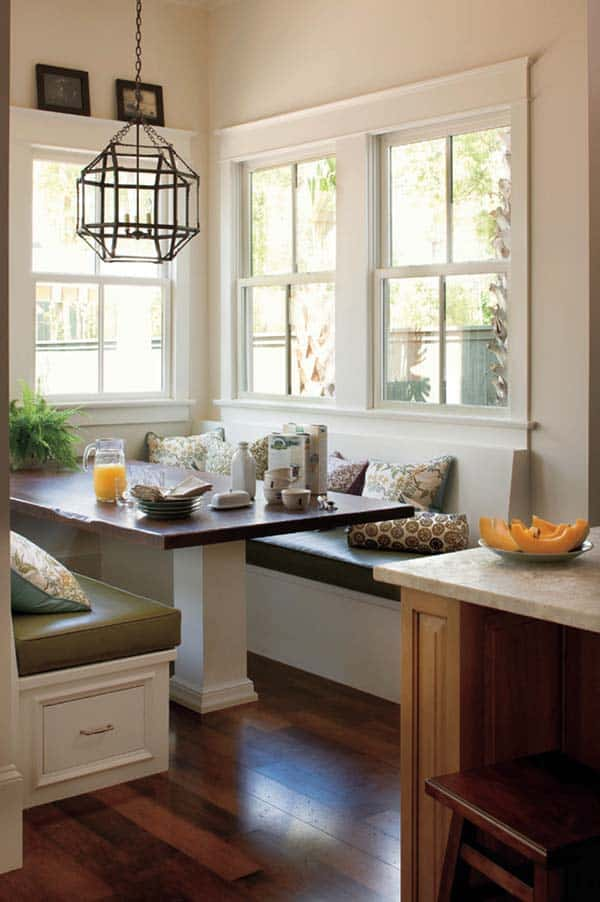 Breakfast Nook Design Ideas-21-1 Kindesign