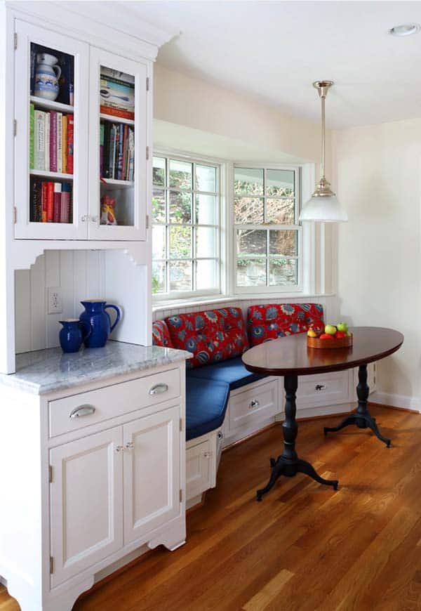 Breakfast Nook Design Ideas-24-1 Kindesign
