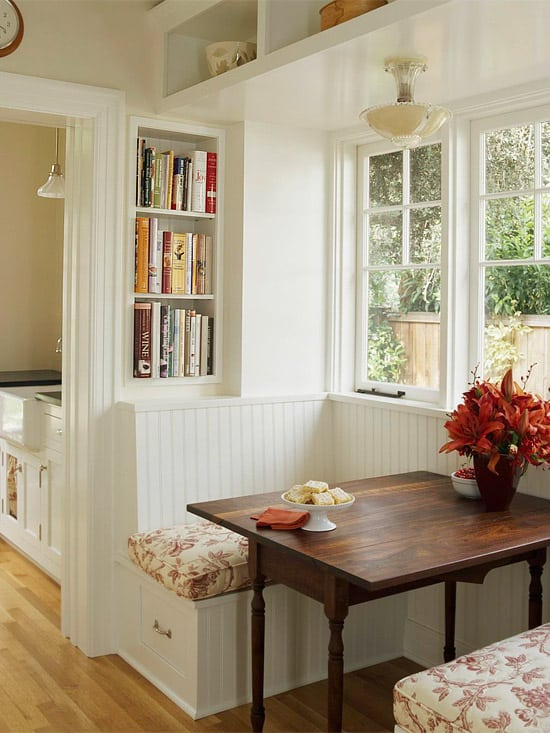 Breakfast Nook Design Ideas-26-1 Kindesign