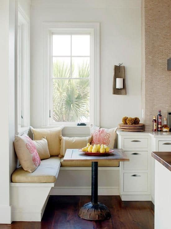 Breakfast Nook Design Ideas-27-1 Kindesign