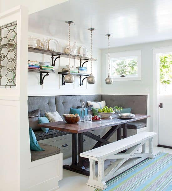 Breakfast Nook Design Ideas-28-1 Kindesign