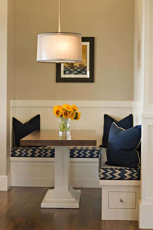 Breakfast Nook Design Ideas-32-1 Kindesign
