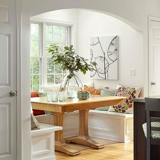 Breakfast Nook Design Ideas-33-1 Kindesign