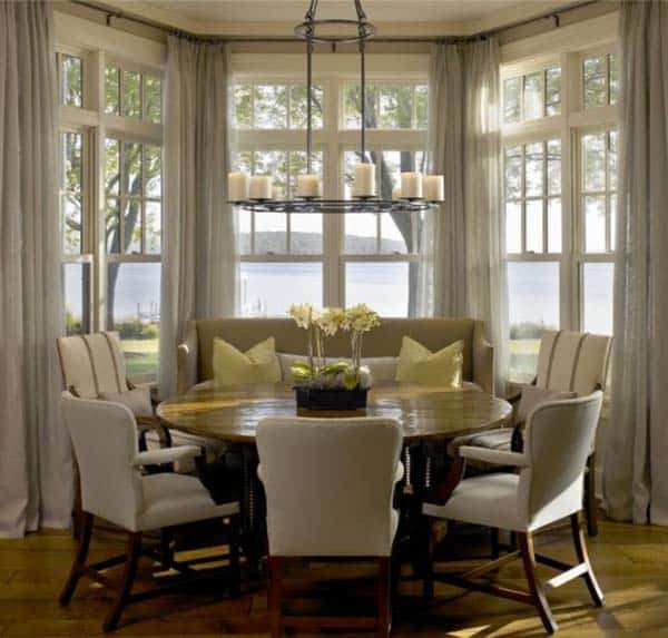 Breakfast Nook Design Ideas-34-1 Kindesign
